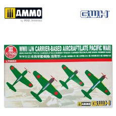 1/700 WWII IJN Carrier-Based Aircraft (Late Pacific War)