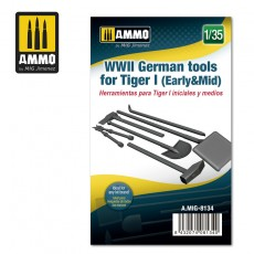 1/35 German Tools for Tiger I (Early & Mid)