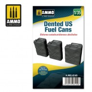 1/35 Dented US Fuel Cans