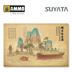 Titanic & Chinese landscape