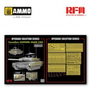 1/35 Upgrade set for 5076 Canadian Leopard 2A6M CAN