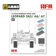 1/35 Workable track links for Leopard 2A5/A6/A7