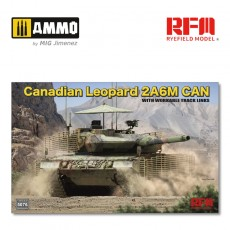 1/35 Canadian Leopard 2A6M CAN with workable track links