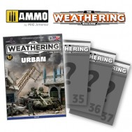 Subscription to The Weathering Magazine (issues 34 to 37)