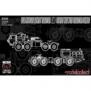 USA M983A2 HEMTT TRACTOR AND SOVIET MAZ 7410 TRACT
