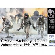 1/35 German Machinegun Team. Autumn-winter 1944. WW II era