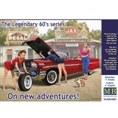 1/24 The Legendary 60s series. On new adventures!