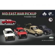 1/72 Mid East War pickup+ DSHK