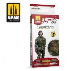 Flecktarn German Camouflage Figures Set