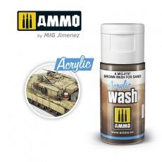 ACRYLIC WASH Brown Wash for Sand