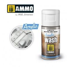 ACRYLIC WASH Neutral Grey Wash