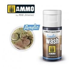 ACRYLIC WASH Black Wash