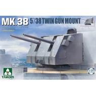 1/35 MK.38 5''/38 Twin Gun Mount (Metal barrel)