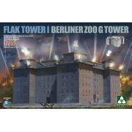 1/350 Flak Tower I Berliner Zoo G Tower