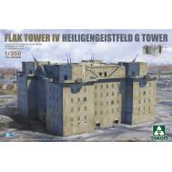1/350 Flak Tower IV Heiligengeistfeld G Tower