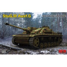 1/35 StuG. III Ausf. G Early Production with full interior & workable track links