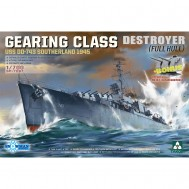 1/700  GEARING CLASS DESTROYER USS DD-743 SOUTHERLAND 1945 (Full Hull)