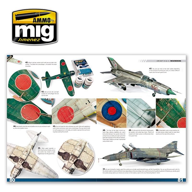 Ammo of Mig Encyclopedia of Aircraft-VOL.4 Weathering English #6053 by Ammo of Mig Jimenez