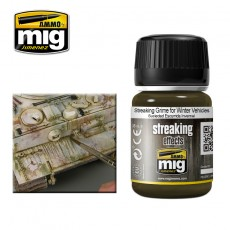 STREAKING GRIME FOR WINTER VEHICLES