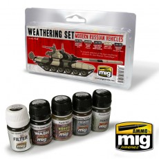 MODERN RUSSIAN VEHICLES WEATHERING SET