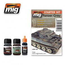 PANZER GREY - STARTER SET