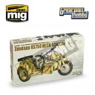 Zundapp KS 750, moto alemana 2GM con sidecar