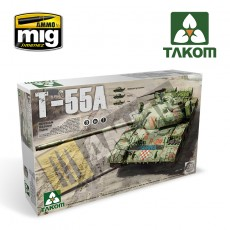 1/35 Russian Medium Tank T-55 A [3 in 1]