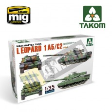 1/35 Main Battle Tank Leopard  1 A5/C2 (2 in 1)