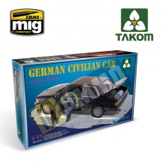 1/35 German Civilian Car with Gas Rockets