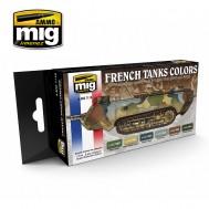 WW I & WW II FRENCH CAMOUFLAGE COLORS