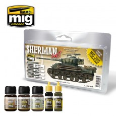 FURY SHERMAN SET