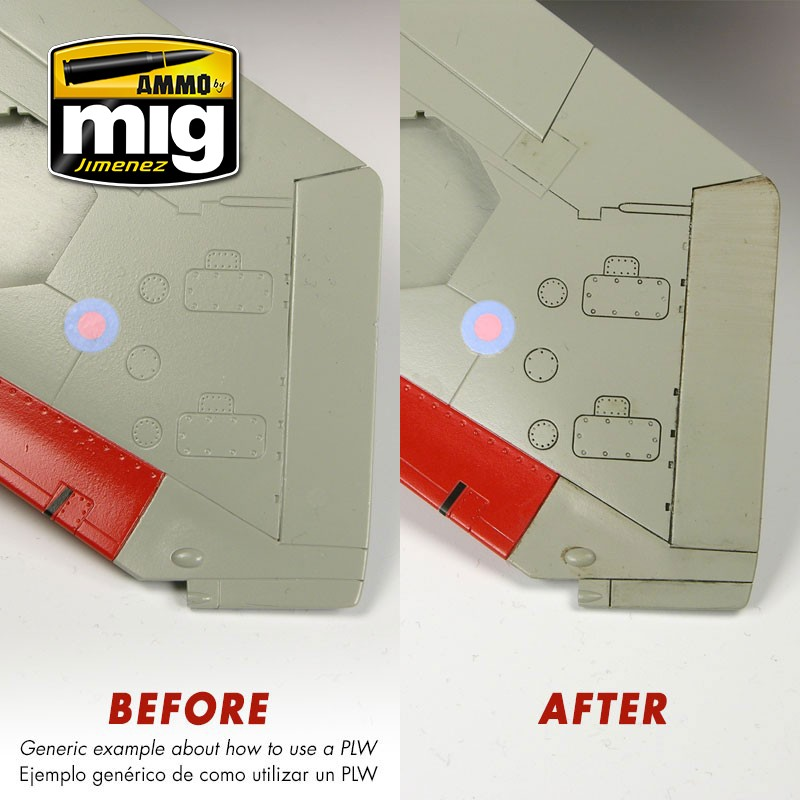 panel line wash tan grey ammo by mig jimenez