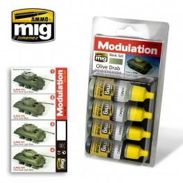 Olive Drab Modulation Set