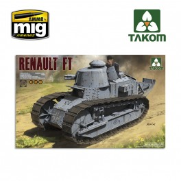 1 16 French Light Tank Renault Ft 17 3 In 1 Ammo By Mig Jimenez