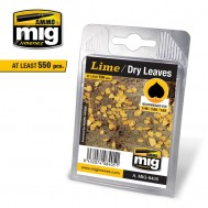 LIME - DRY LEAVES