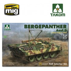 1/35 Bergepanther Ausf.D Umbau Seibert 1945 production w/ full interior kit