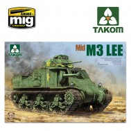 1/35 US MEDIUM TANK M3 LEE MID