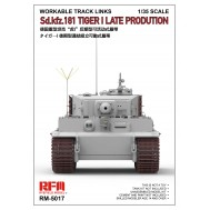 1/35  Workable Track Links For Tiger I Late Production