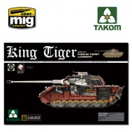 1/35 WWII German King Tiger Porsche Turret w/Zimmerit and interior  SPECIAL EDITION