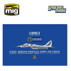 "1/48 MiG-29 9-13 ""Fulcrum C"" Korean People's Army Air Force"