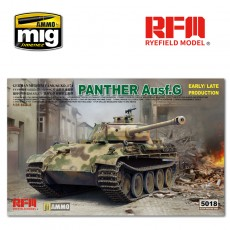 1/35  Panther Ausf.G Early/ Late productions