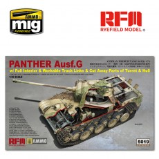 1/35  Panther Ausf.G with full interior & cut away parts