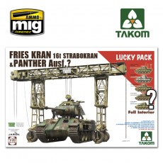 1/35 FRIES KRAN 16t STRABOKRAN 43/44 + PANTHER FULL INTERIOR