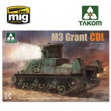 1/35 BRITISH MEDIUM TANK M3 GRANT CDL