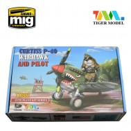 Cute  U.S P-40 Warhawk (Contains a pilot)