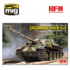 1/35 Jagdpanther G2 with full interior & workable track links