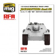 1/35 Workable Track Links for Jagdpanther