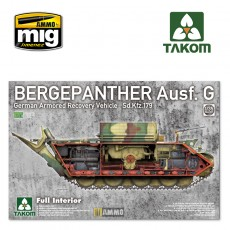 1/35 Bergepanther Ausf.G German Armored Recovery Vehicle Sd.Kfz.179 w/ full interior kit