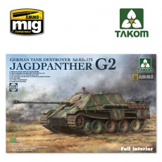 1/35 Jagdpanther G2 German Tank Destroyer Sd.Kfz.173  w/ full interior kit