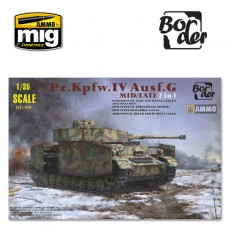 1/35 Pz.kpfw. IV Ausf. G Mid/Late - 2 in 1